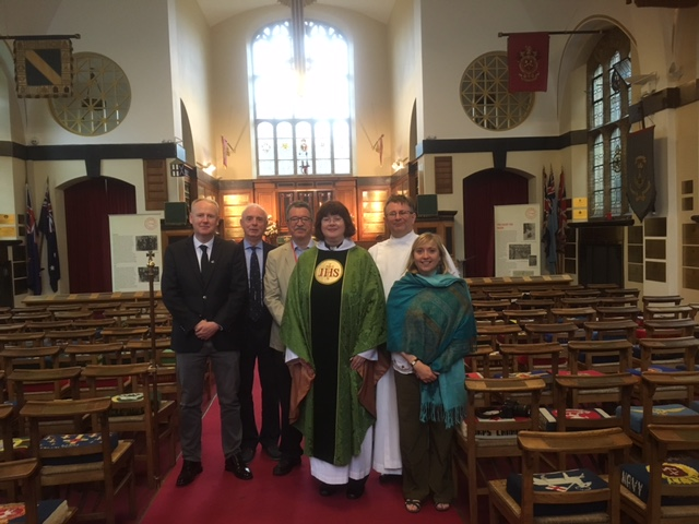 Passchendaele 100- Welcoming the new Vicar- Sunday morning communion 30th July