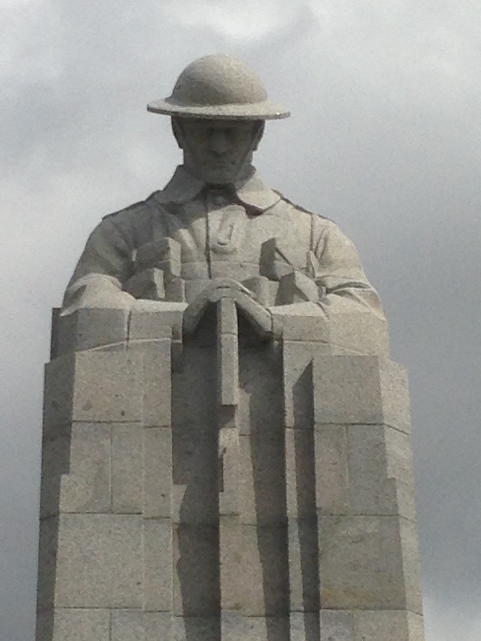 Canadian Memorial- St Julien